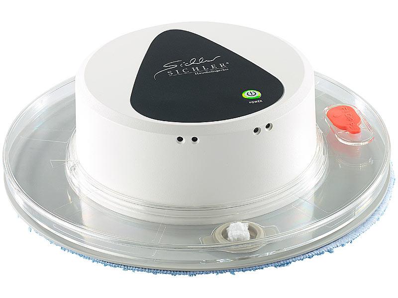 sichler haushaltsger te boden wisch roboter pcr 1130 f r nass und trockenreinigung. Black Bedroom Furniture Sets. Home Design Ideas
