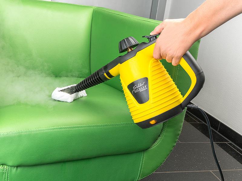 Sichler Haushaltsgeräte Tragbarer Dampfreiniger mit großem Zubehör ...
