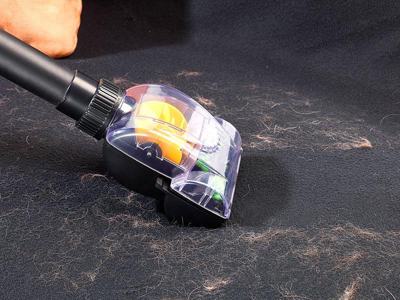 Sichler Haushaltsgeräte TierhaarentfernerBürstenaufsatz  ~ Staubsauger Roboter Tierhaare