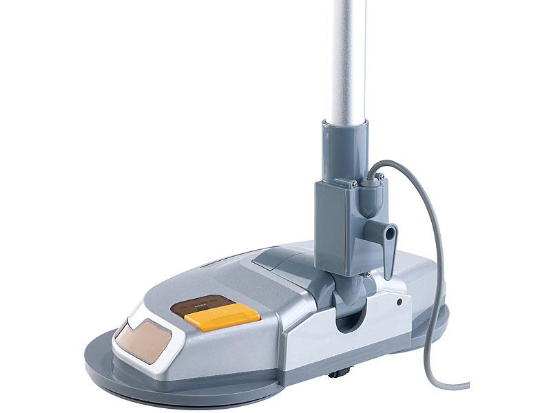 Fußboden Poliermaschine ~ Sichler haushaltsgeräte fußboden poliermaschine mit teleskop griff
