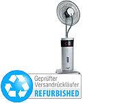 Sichler Stand-Ventilator mit Ultraschall-Sprühnebel Versandrückläufer